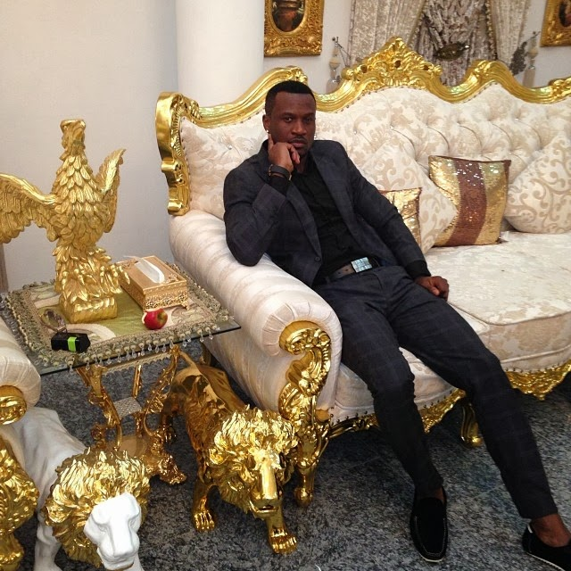 Peter At The Presidential Villa