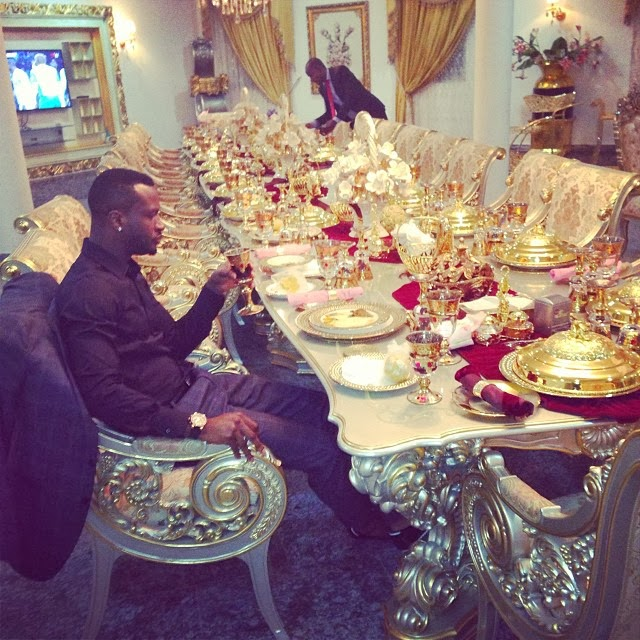 Peter Psquare At The Presidential Villa