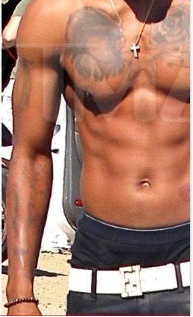 Scaff Beezy tattoo