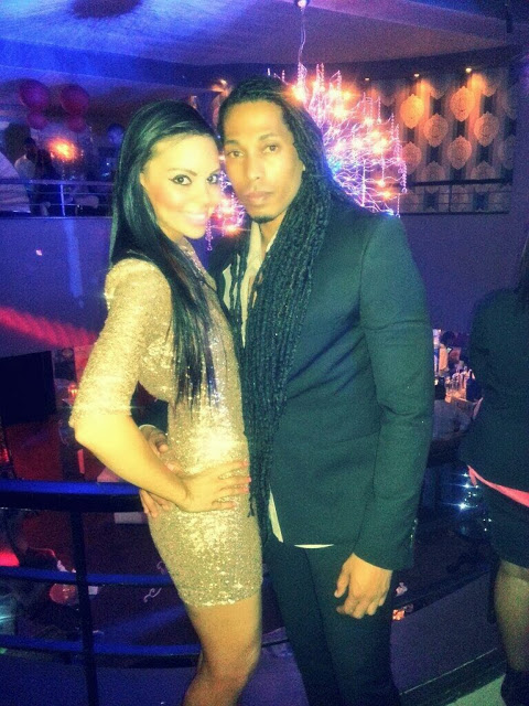 Angelo and boo Candice Arends 2013 NaijaVibe