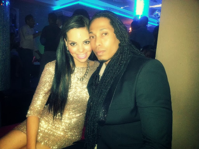 Angelo and boo Candice Arends