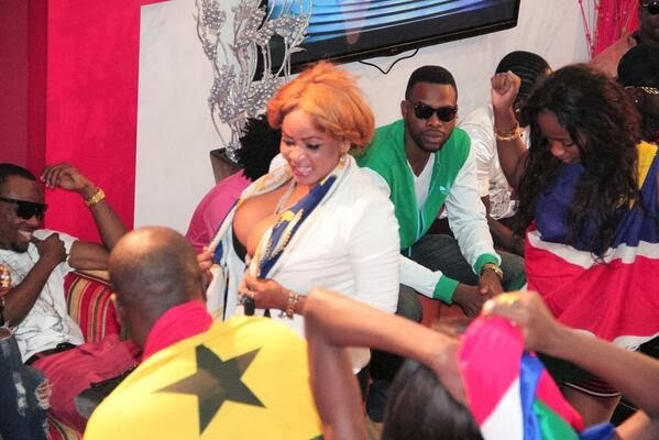 Cossy at The Next Movie Star Africa House Party