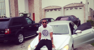 D'Prince flaunts newly acquired luxury 2014 Mercedes Coupe
