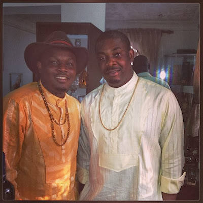 Dr siD and Don Jazzy