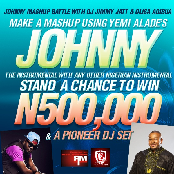 Johnny Mash Up Battle with DJ Jimmy Jatt & Olisa Adibua