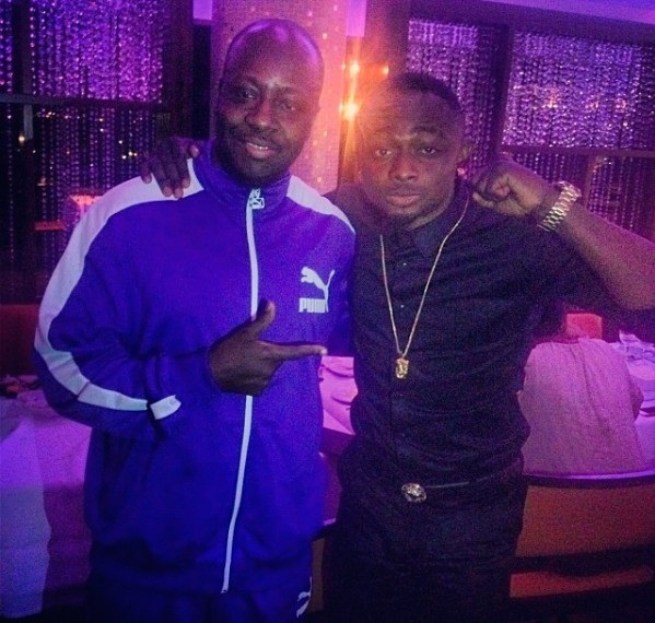 Sean Tizzle and Wyclef