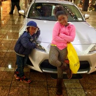 Tiwa Savage step-daughter and son