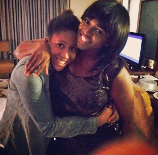 Waje and Emerald NaijaVibe
