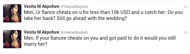 Your fiance cheats on you for less than $10k - Vixen
