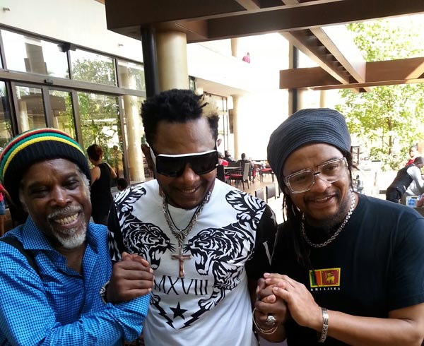 Awilo with Maxi Priest and Billy Ocean