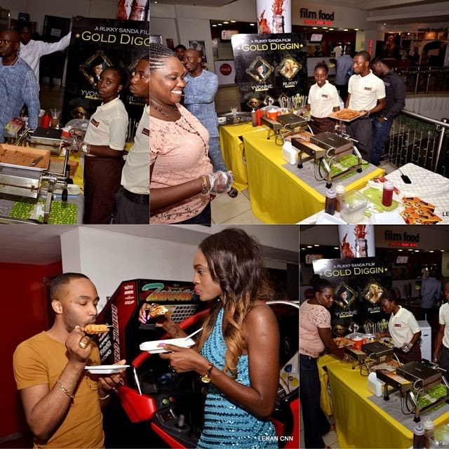 Beverly at Rukky's Gold Digging movie premiere