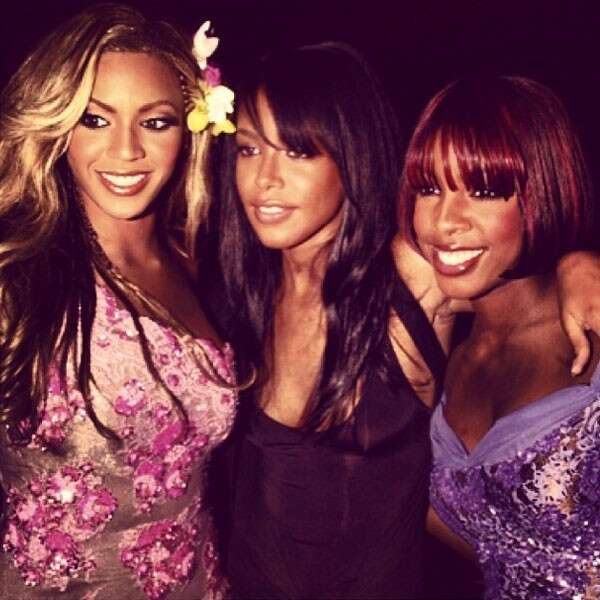 Beyonce, Kelly Rowland and Aaliyah