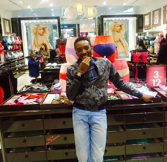 Bovi spotted at Lingerie store