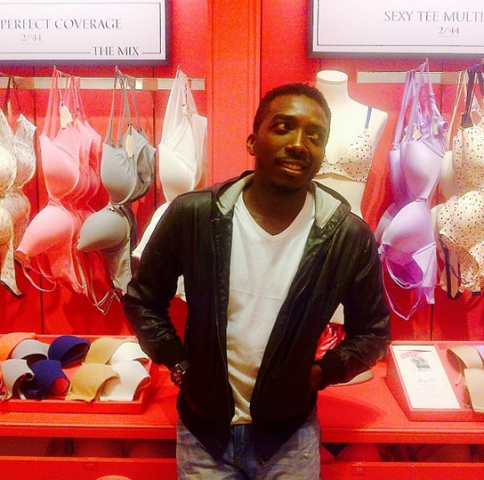Bovi spotted in a Lingerie store