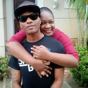Comedienne Princess and Wizkid