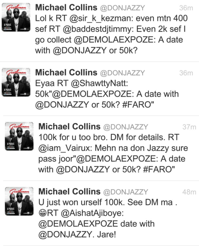 Donjazzy surprised two fans