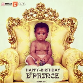 D'prince cute childhood pic