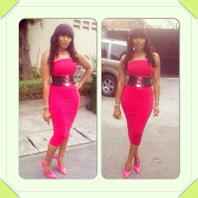 Ebube Nwagbo's sexy outfit