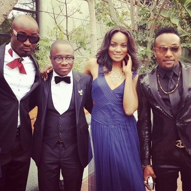 See KCee, Harrysong, Julius Agwu and Seyi Shay's Grammy outfits