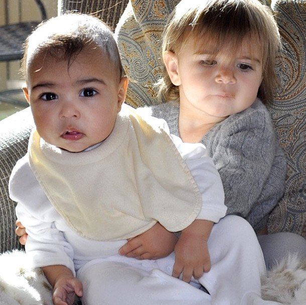 North West and Penenlope Disick