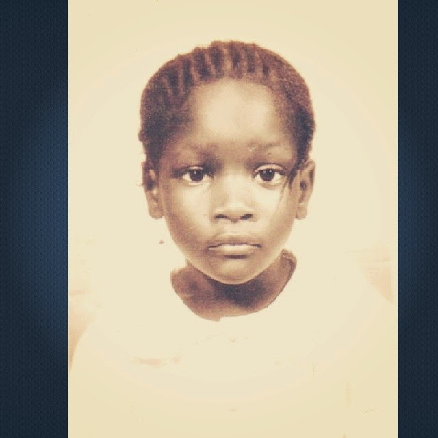 OAP Toolz shares childhood picture of herself