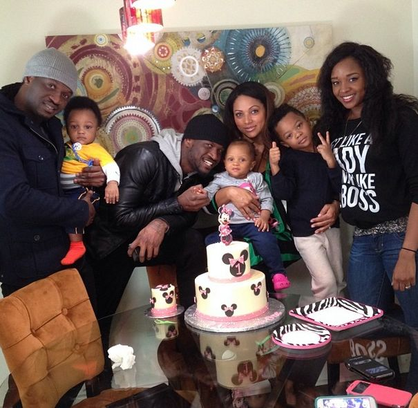 Peter & Lola Omotayo Okoyes at Aliona's 1st Birthday