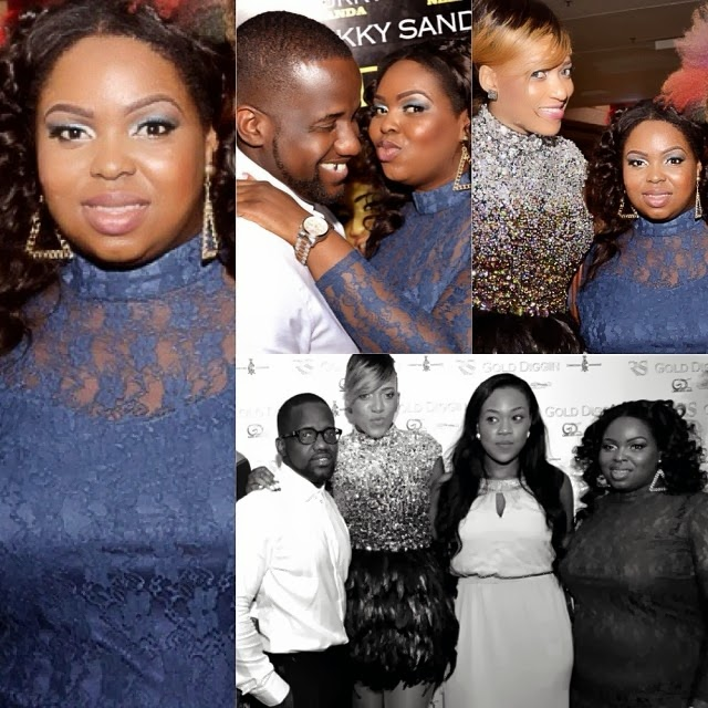 Rukky's Gold Digging movie premiere