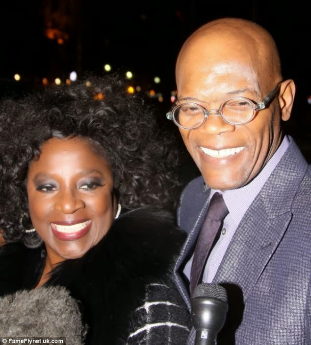 Samuel L Jackson and wife