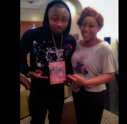 Sean Tizzle spotted with Rita Dominic