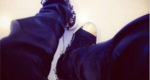 See Sean Tizzle's N500k Guiseppe Zanotti sneakers