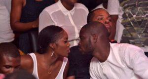 Tiwa Savage and Teebillz at Industry night