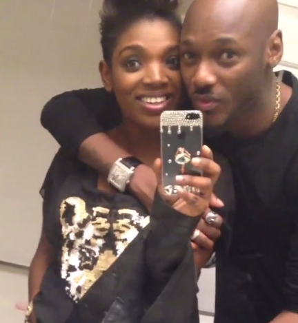 Tuface and Annie Idibia loved up