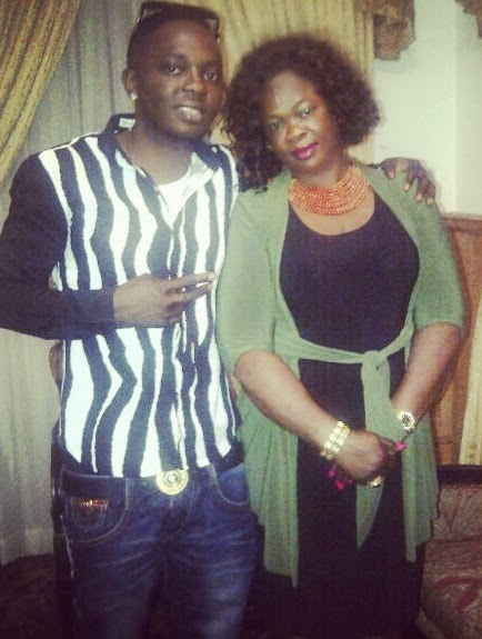Waconzy and his lovely mum