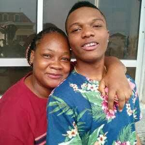 Wizkid and Comedienne Princess