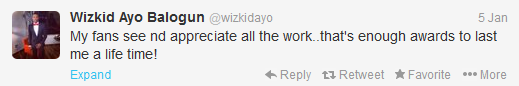 Wizkid responds to Headies Awards