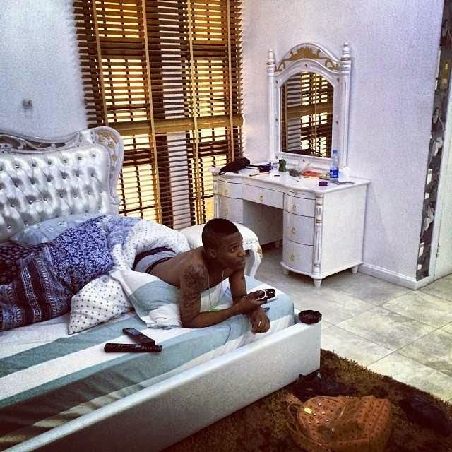 Checkout Wizkid's bedroom