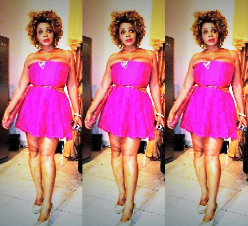 Cossy Orjiakor flaunts assets in pink gown