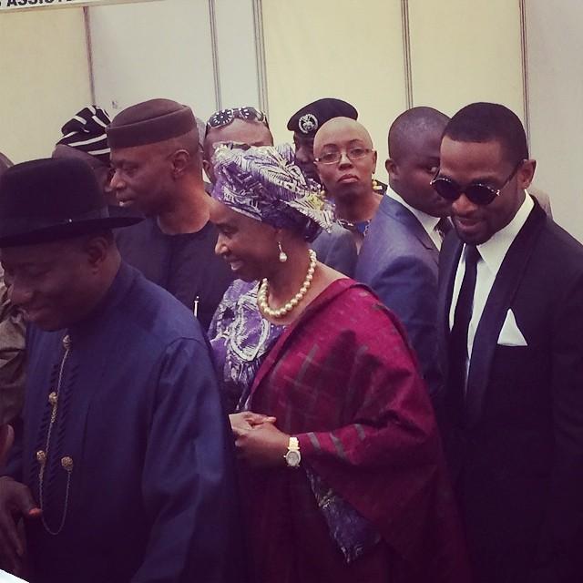 D'Banj and Goodluck Jonathan