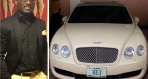 Dayo Adeneye and his Continental GT Bentley