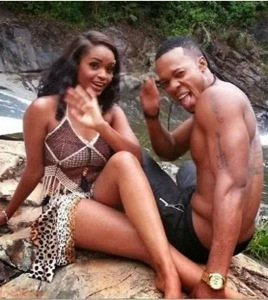 Flavour and Dillish on set