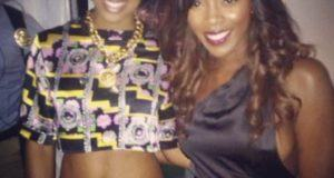 Kelly Rowland and Tiwa Savage