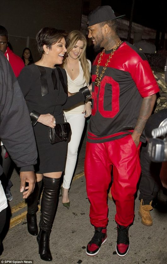 Kris Jenner and the Game