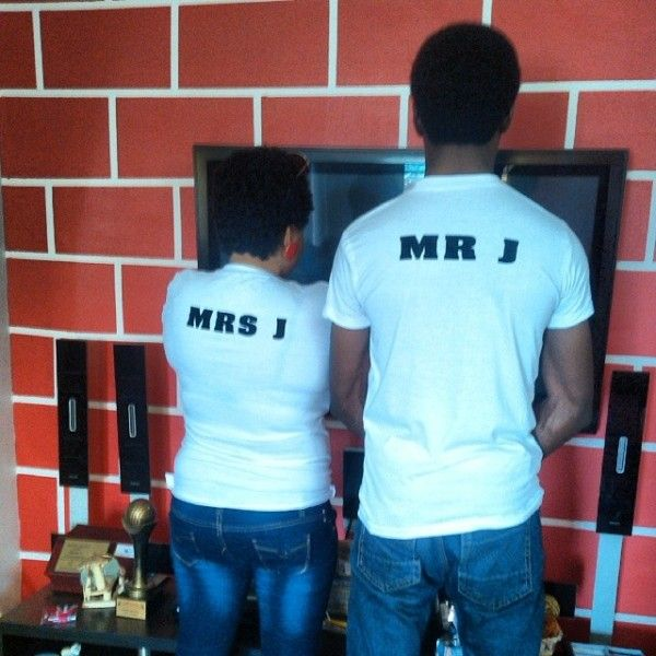 Mr and Mrs J