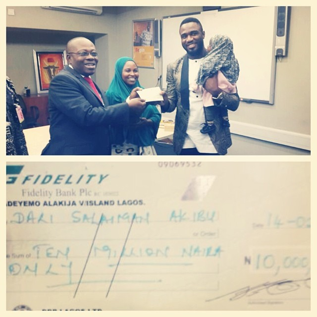 Praiz raises N10 Million to save baby with a hole in the heart