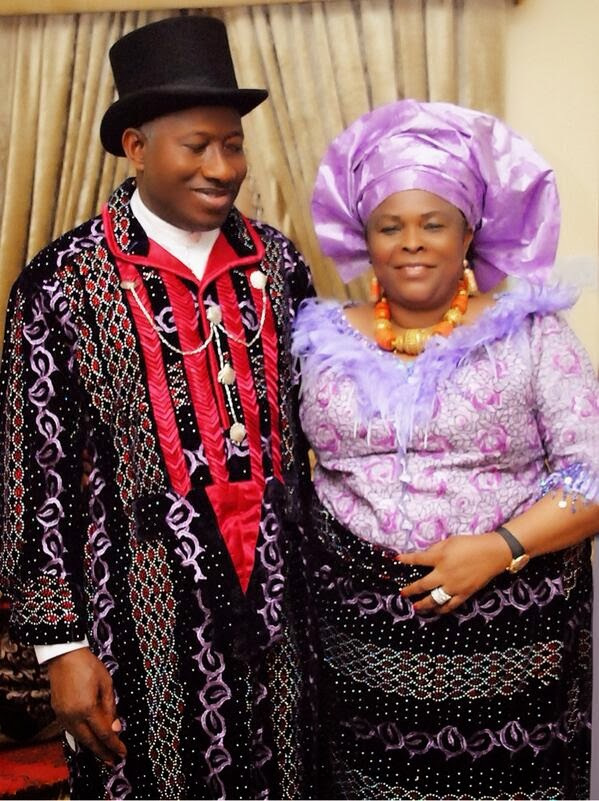 President Jonathan & First Lady Patience
