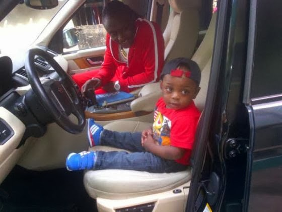 Terry G with his son