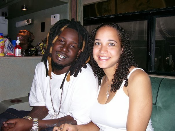 Tpain and wife