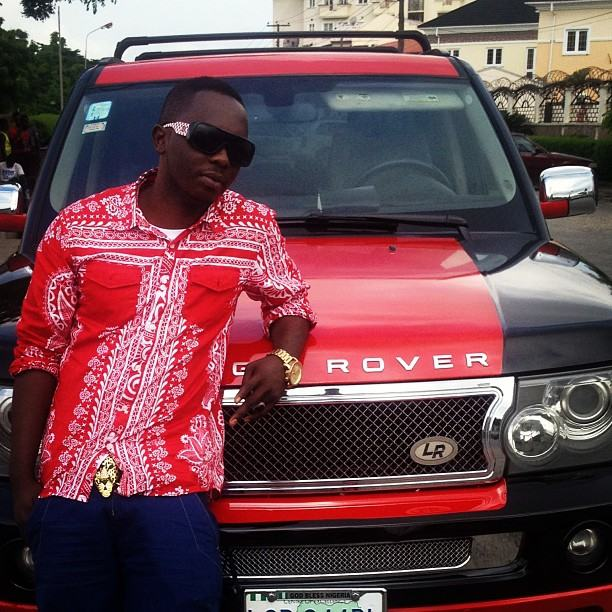 Waconzy with his Range-Rover