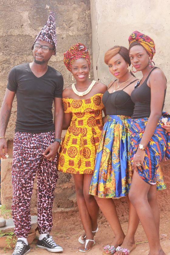 Behind the scene photos from Yemi Alade's 'Johnny' video shoot