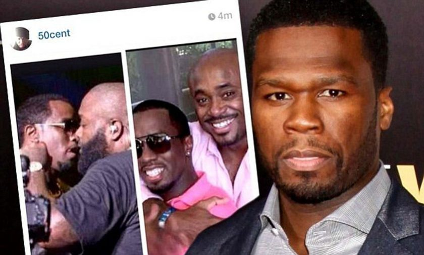 50cent alleges P.diddy and Rick Ross are both gay